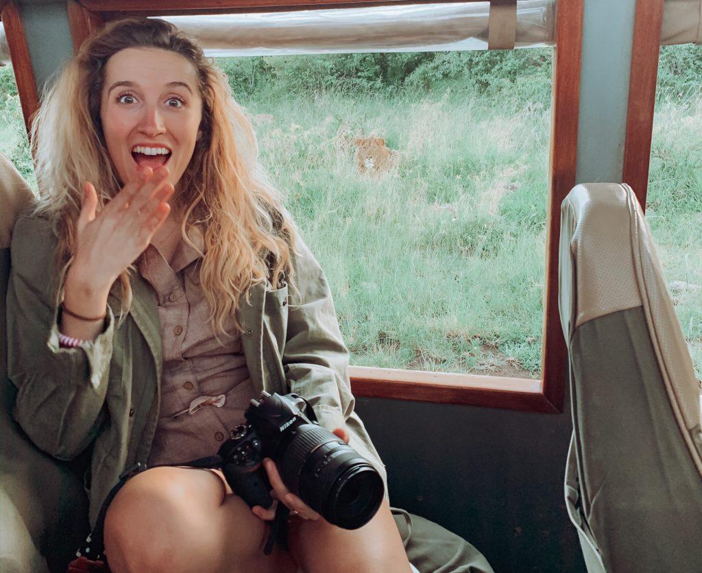 maleta para un safari