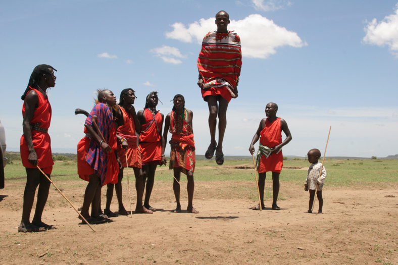 Masai Mara village